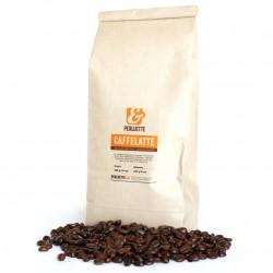 Caffelatte un mélange pour les cafés espresso avec du lait